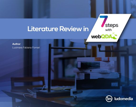 Literature Review in 7 steps with webQDA
