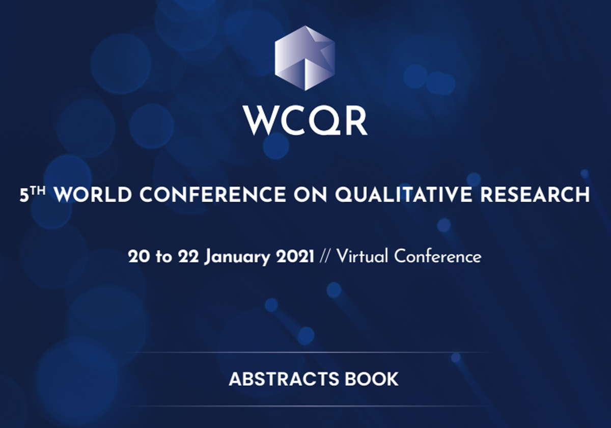 WCQR2021 Abstracts Book